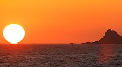 Sonnenuntergang in Saint Malo