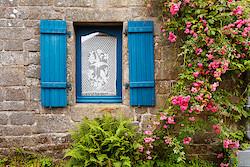 Fenster in Locronan