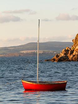 Fischerboot bei Tréboul