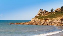 Küste bei Saint-Samson