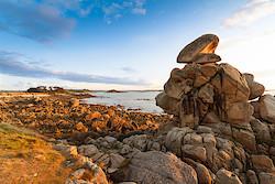 Küste bei Pointe Saint-Samson I