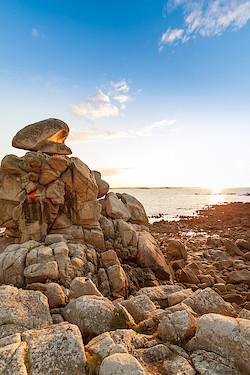 Küste bei Pointe Saint-Samson II