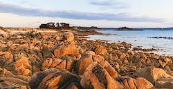 Küste bei Pointe Saint-Samson III
