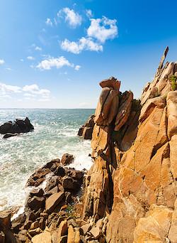 Küste bei Pointe du Diben II