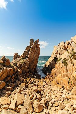 Küste bei Pointe du Diben III