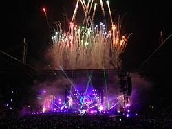 Das Finale mit Feuerwerk
