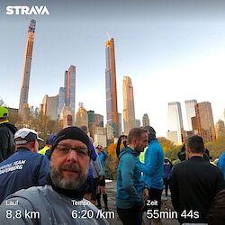 Morgens im Central Park