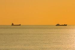 Schiffe am Horizont
