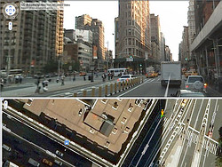 Street View – Flatiron Building, New York City
