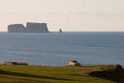 Insel Drangey im Fjord Skagafjörður