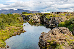 In der Ebene von Þingvellir