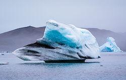 Ein Eisberg