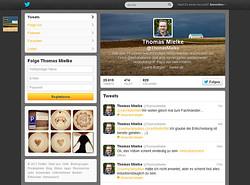 Mein aktuelles Twitter-Profil