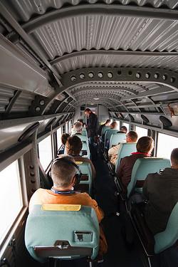 Im Passagierraum