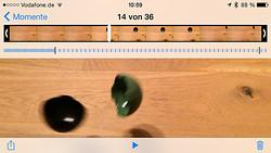 Bearbeitung eines Slow-Motion-Videos