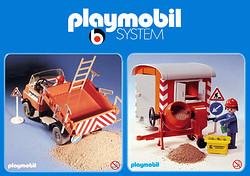 Playmobil System 1974/1976 (Bilder: Playmobil)