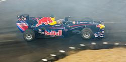 Sebastian Vettel im F1 Red Bull RB6