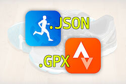 Runtastic Backup JSON to GPX / TCX Converter