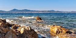 Blick in die Bucht von Saint-Tropez