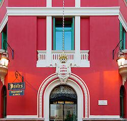 Das Postamt in Monaco