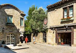 In der Cité von Carcassonne