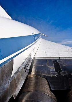 Flügel der Tupolev | Auto & Technik Museum Sinsheim