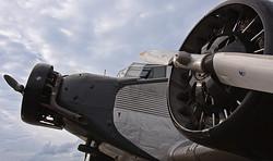 Gelandet | Ju 52