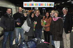 Ankunft in Düsseldorf