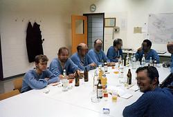 Ich so bei Bier und Schnaps danach (l.)