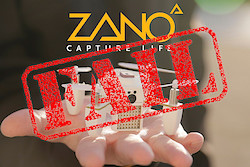 Der ZANO-Drohnen-Fail (Hintergrundbild: Torquing Group)